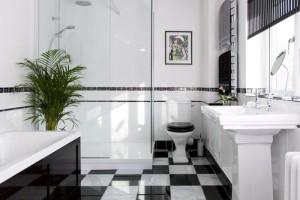 Оформляем ванную комнату в стиле ар-деко