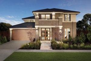Проекты кирпичных загородных домов с гаражом