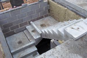 Конструкции лестничных проемов и производство железобетонных изделий для строительства лестниц