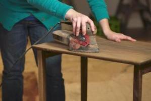 Этапы реставрации мебели