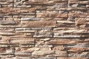 Отделка искусственным фасадным камнем