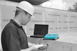 Приборы для диагностики прочности изделий из бетона