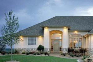 Строительство домов и коттеджей из бетонных блоков.