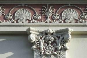 Использование лепнины из гипса в декоре фасадов