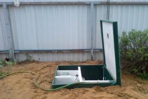 Автономная канализация на этапе строительства загородного дома.