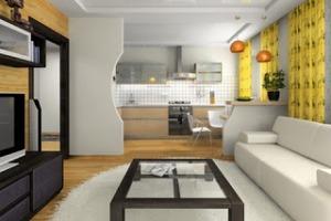 Популярные приемы для декоративного зонирования помещений