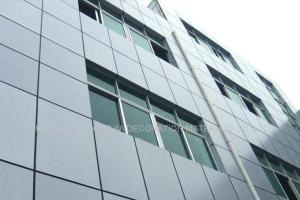 Применение алюминиевых композитных панелей