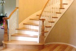 Обустройство лестницы в доме