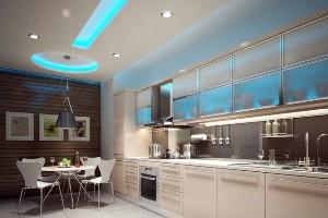 Натяжные потолки для кухонь: на что обратить внимание