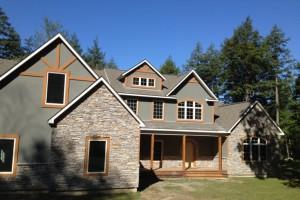 Строительство дома. Выбор материала для стен