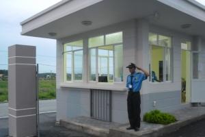 Строительство бытовки или поста охраны