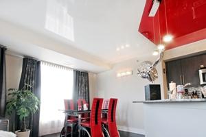 Натяжные потолки и их преимущуства
