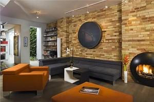 Натуральный камень в интерьере домов и квартир