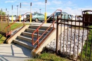 Как отремонтировать уличную лестницу