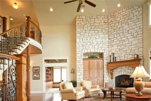 Дизайн комнат с высоким потолком