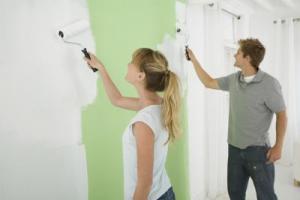 Подготовка стен под покраску или обои из латексной шпатлевки