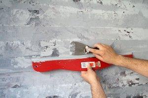 подготовка стен и финишная покраска