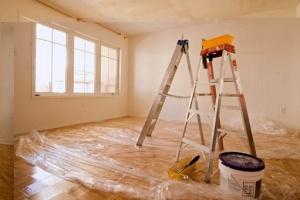 Окраска стен и отделка потолков - варианты решений