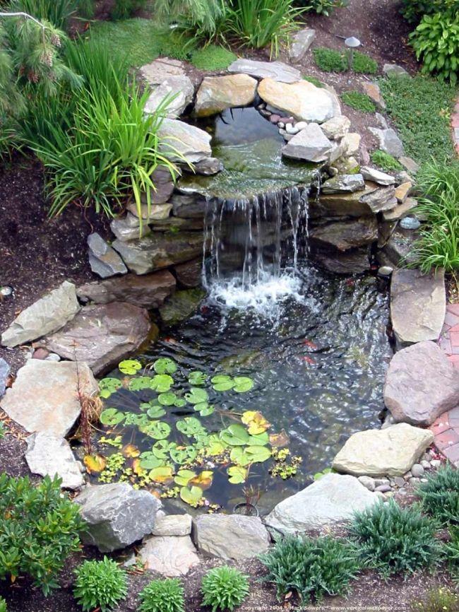 Декоративные бассейны для сада своими руками