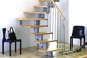 В чем преимущество модульных лестниц?