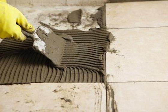 Клей для плитки — цементно-песчаная смесь