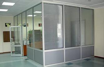 Что из себя представляют офисные перегородки и где их используют?