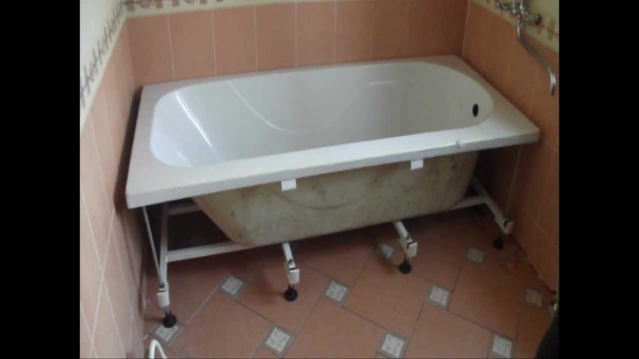 Установка ванной своими руками поэтапно фото 333
