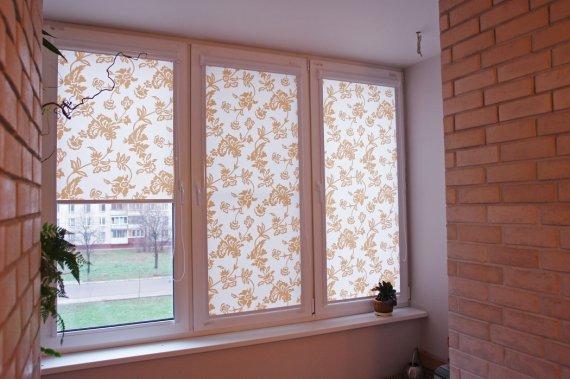 Как замерить рулонные шторы на пластиковые окна?