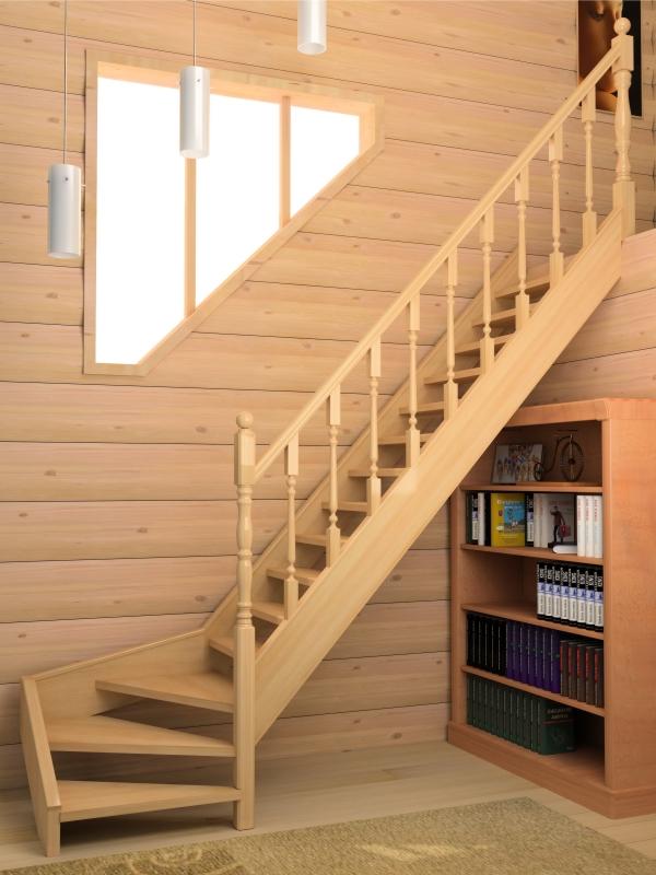 Виды лестниц в доме на второй этаж своими руками