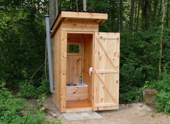 Постройка туалета своими руками на даче