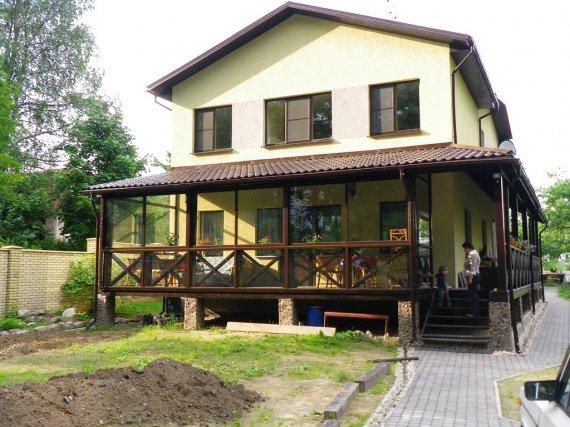 Строительство веранды к дому своими руками