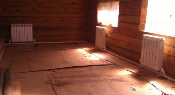 Ленинградка система отопления частного дома