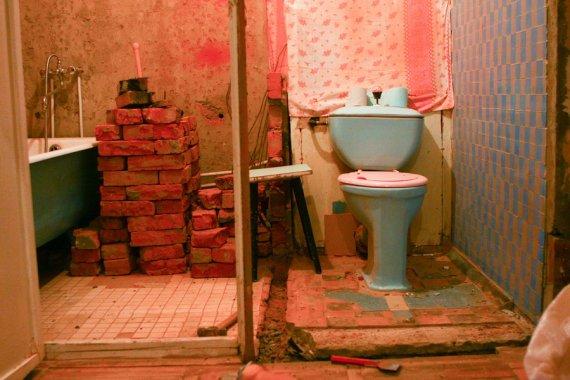 Объединить ванну и туалет своими руками