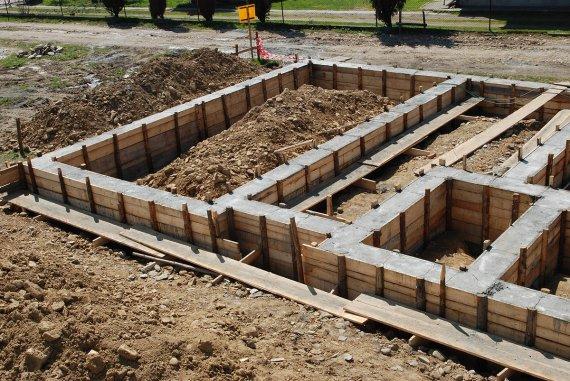 Виды фундаментов по типу конструкции