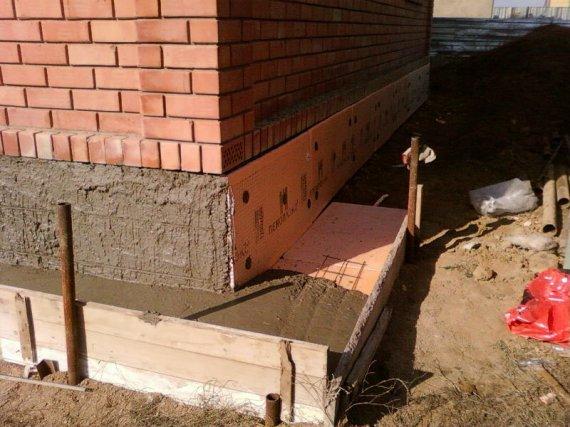 Как утеплить фундамент дома снаружи своими руками?