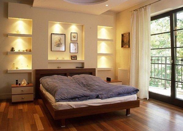 Ниша в спальне как сделать