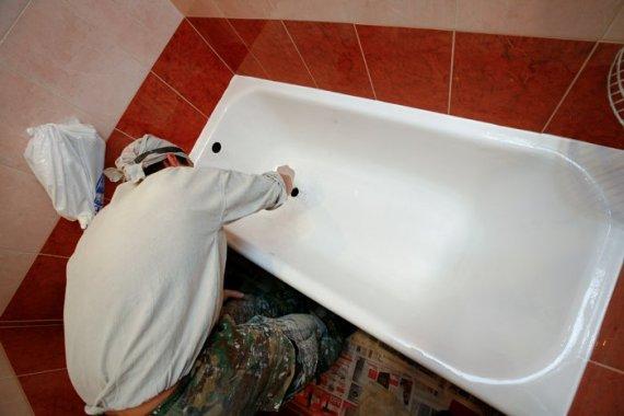 Как отреставрировать ванну своими руками?