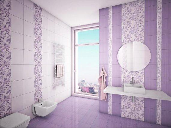 Какой выбрать цвет плитки в ванную комнату?