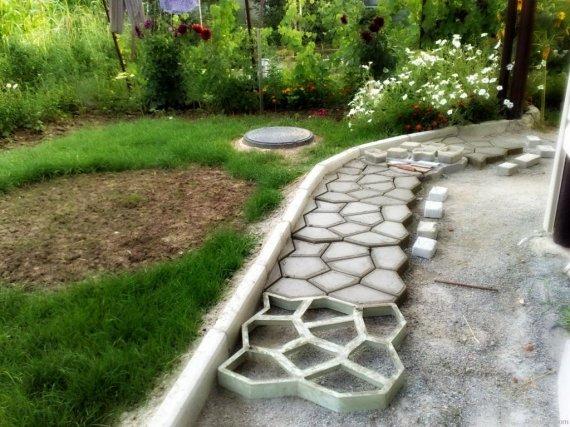 Какие материалы используют для садовых дорожек
