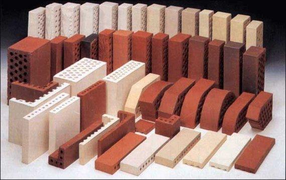 Виды кирпича для комбинированных заборов