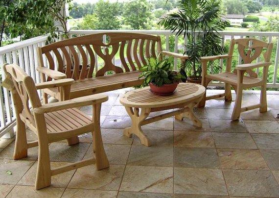 Какие виды садовой мебели бывают?