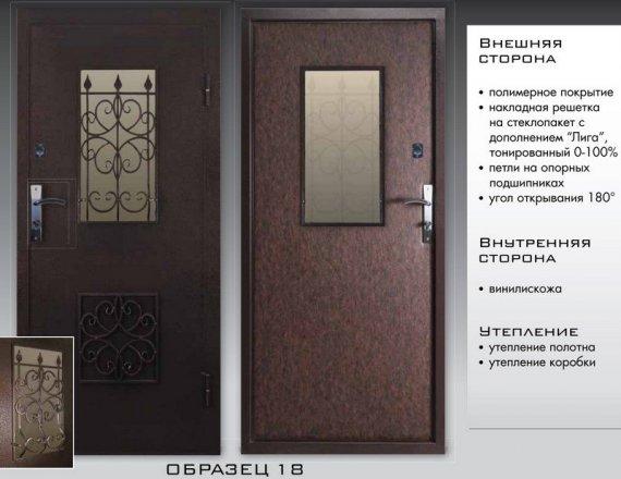 По каким параметрам различаются входные двери?