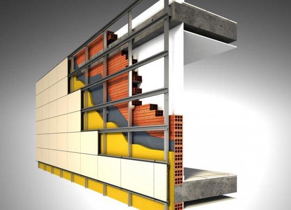 Что из себя представляет подсистема для вентилируемых фасадов?