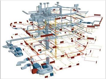 Проектирование инженерных сетей разного уровня сложности