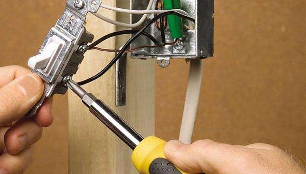 Поменять проводку в гараже своими руками