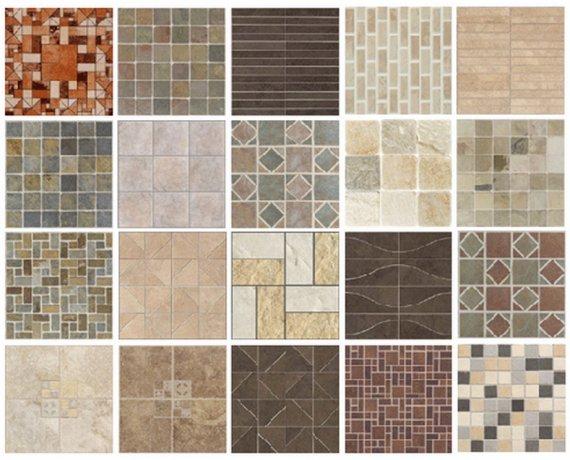 Какие виды плитки бывают?