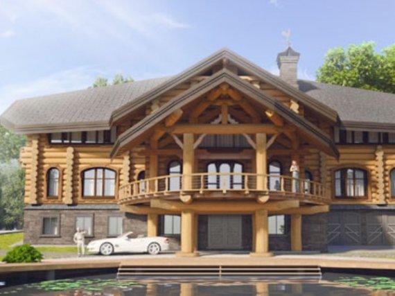 Преимущества элитных деревянных домов