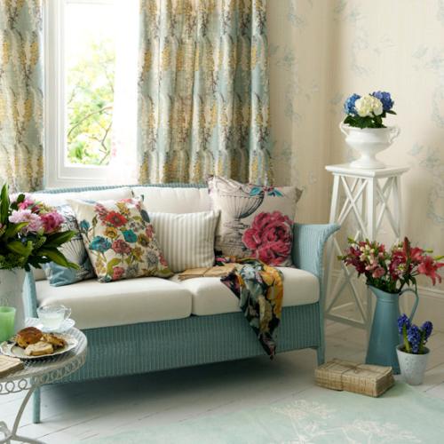 Интерьерные ткани в оформлении декора