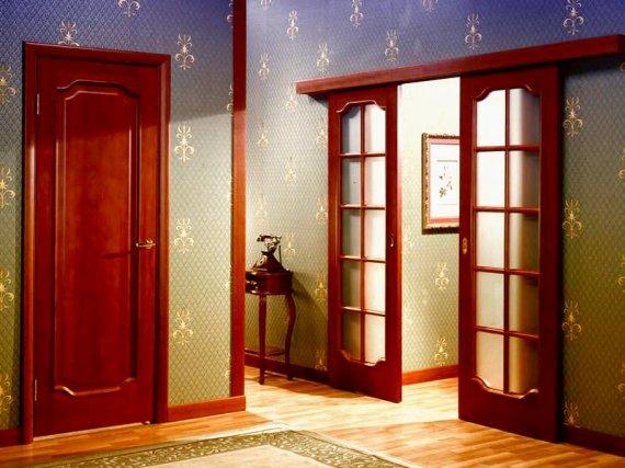 Виды входных и межкомнатных дверей