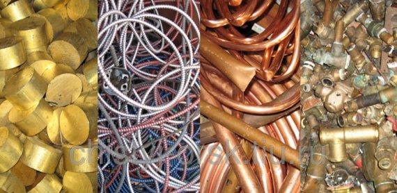 Какие виды металлов принимают на лом?